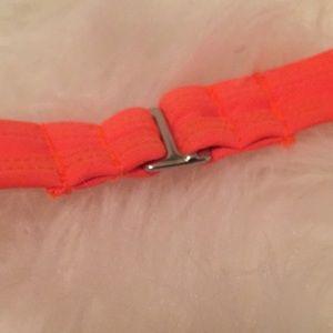 dd62019b1 jcpenney Swim - Neon Orange String Halter Bikini Padded Top